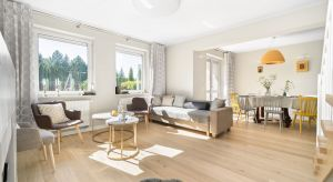 Zainspirowany stylem skandynawskim, wypełniony światłem i domowym ciepłem, a przede wszystkim praktyczny i przyjazny dzieciom – taki jest projekt domu, stworzony na potrzeby pięcioosobowej rodziny.