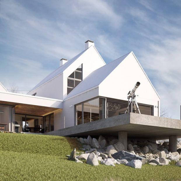 Dom Rozcięty - nowoczesna architektura z nawiązaniem do tradycji