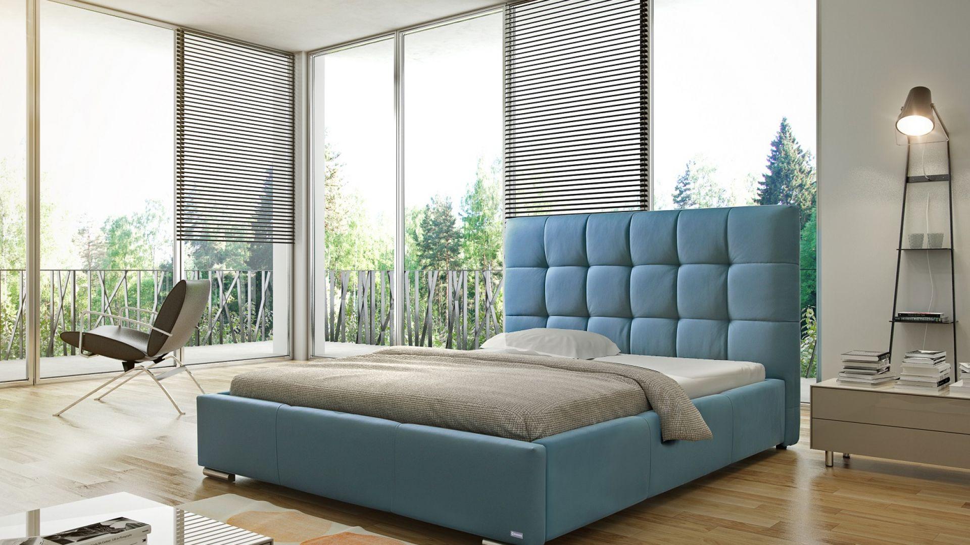Łóżko tapicerowane Sierra marki Comforteo. Fot. Comforteo