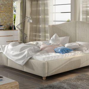 Łóżko tapicerowane Charlotte marki Comforteo. Fot. Comforteo