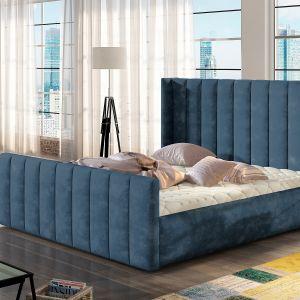 Łóżko tapicerowane Malibu marki Comforteo. Fot. Comforteo
