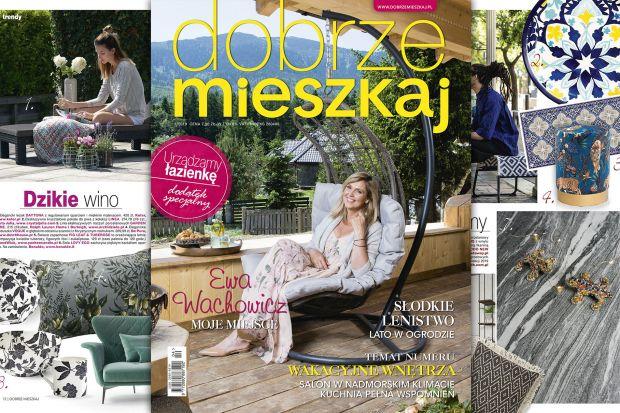 Gwiazdą wakacyjnego wydania Dobrze Mieszkaj jest Ewa Wachowicz. Znana polska producentka, dziennikarka i prezenterka telewizyjna zaprosiła nas do swego domu, który położony w malowniczej okolicy, zachwyca również wyjątkową architekturą.
