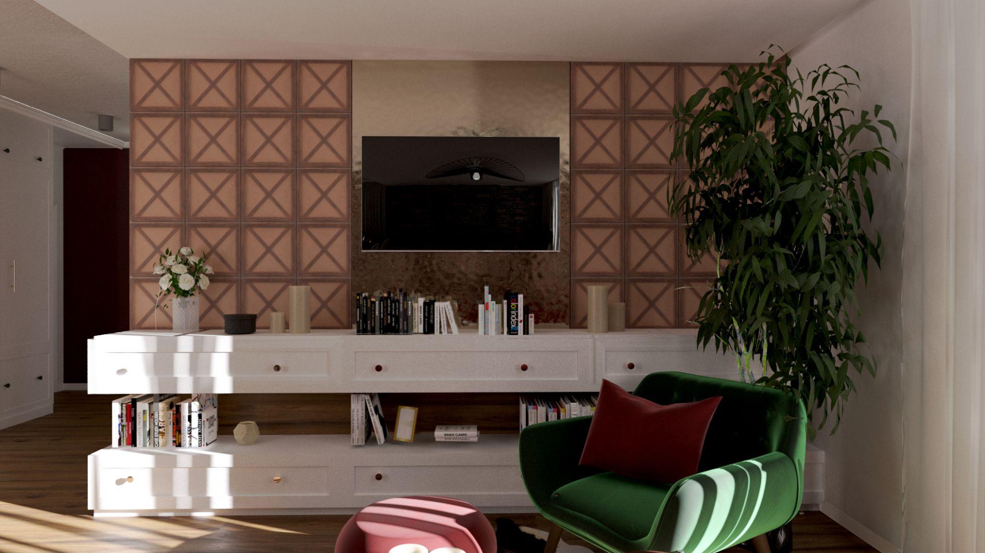 Płytka cementowa Maderada imitująca kolor, usłojenie oraz fakturę drewna. Fot. Elkamino