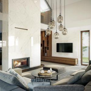 Wnętrze zaprojektowano z myślą o komforcie 4-osobowej rodziny. Dom HomeKoncept 13. Projekt i zdjęcia: HomeKoncept