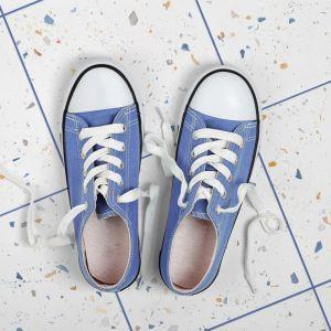 Płytki ceramiczne z kolekcji Drops colour o modnym wzorze lastryko sprawdzą się na podłodze w strefie wejścia. Fot. WOW