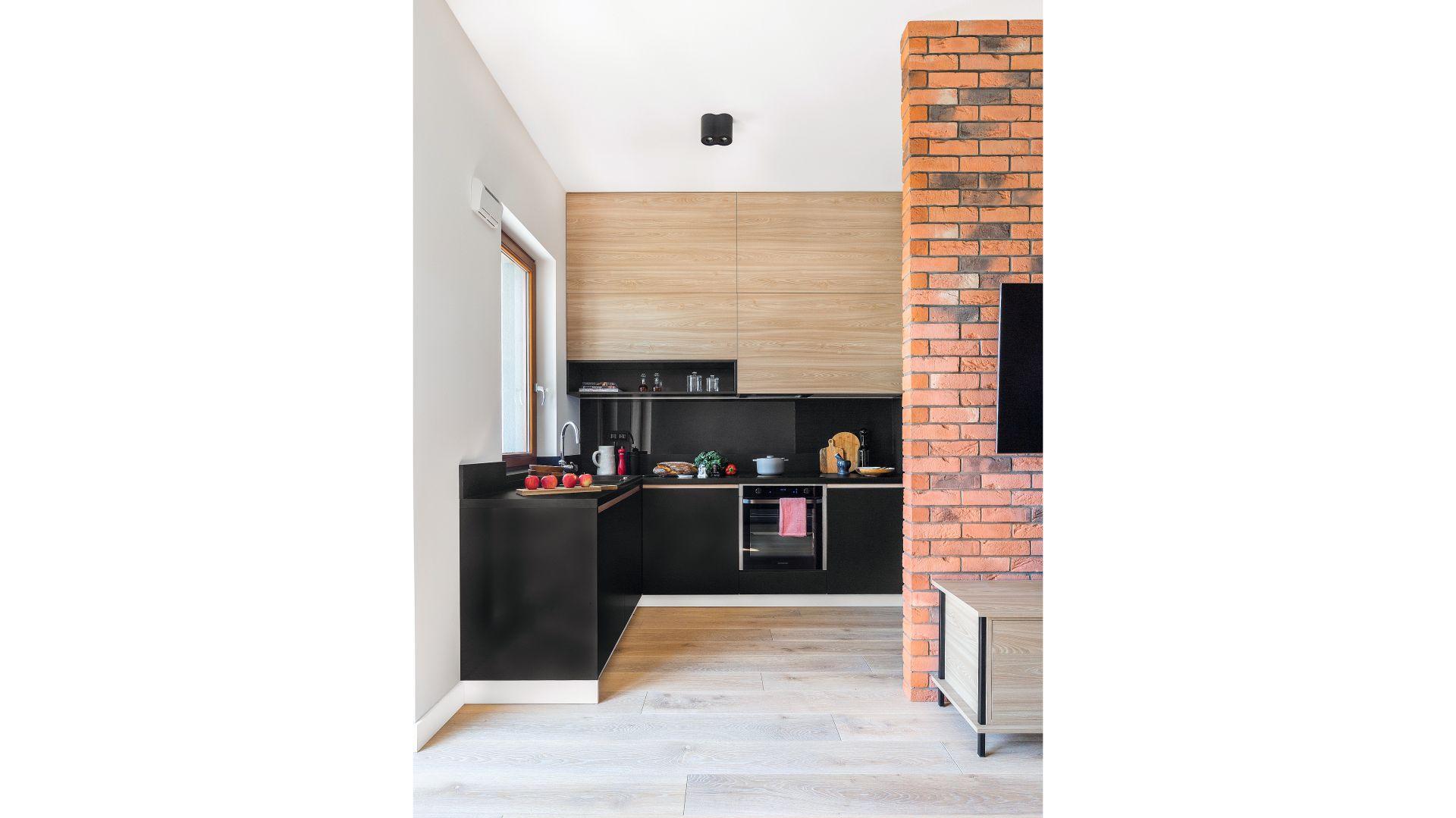 Piękna Kuchnia Zobacz Gotowy Projekt Wnętrza
