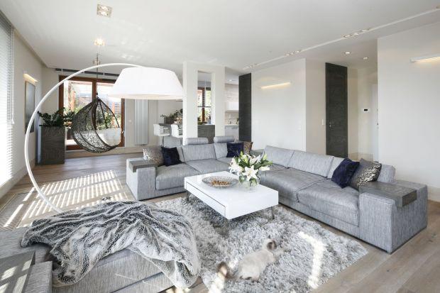 Sofa w salonie. 20 ciekawych pomysłów z polskich domów