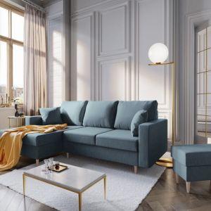 Sofa w salonie. Fot. Bonami.pl