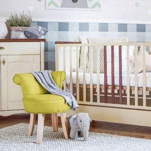 Żółte krzesełko dla dzieci Kicoti Sweety. Fot. Bonami.pl
