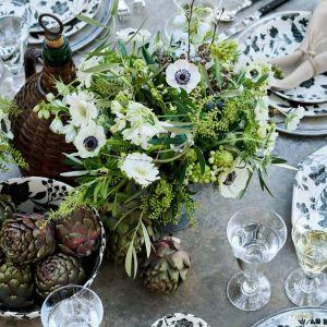 Linia ekskluzywnych naczyń  porcelanowych Garden Vine marki Ralph Lauren Home i Burleigh. Fot. Archidzieło