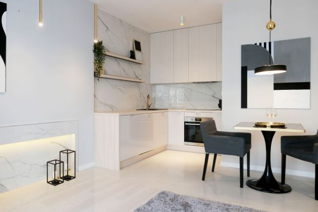 Piękne dwupokojowe mieszkanie - klasyka w nowoczesnej odsłonie