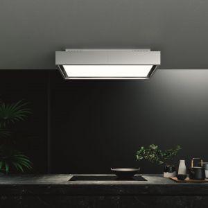 Filtrujący okap sufitowy Vega z technologią Circle.Tech, która polepsza jakość powietrza w kuchni. Fot. Falmec Polska