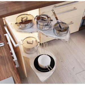 Przechowywanie w kuchni. Fot. Salony Agata