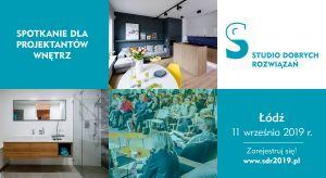 Architektów i projektantów wnętrz z województwa łódzkiego serdecznie zapraszamy 11 września na spotkanie Studia Dobrych Rozwiązań.Będzie to doskonała okazja do zapoznania się z najnowszymi trendami aranżacyjnymi i nowościami do wnętrz.