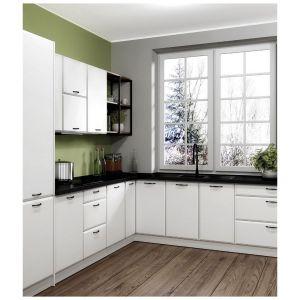 Kuchnia Irving w kolorze białej satyny to uniwersalne rozwiązanie, które rozjaśni każdą przestrzeń. Fot. Classen