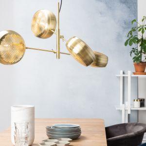 Lampa Gringo Multi Brass. Fot. Zuiver