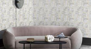Skandynawski minimalizm i wyraziste kształty to cechy tej wyjątkowej kolekcji tapet.
