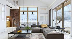 Przestrzeń w niewielkim domu, o metrażu często nieprzekraczającym 100 metrów kwadratowych, trzeba wykorzystać i zaprojektować umiejętnie.