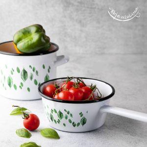 Rondelki są wygodne, praktyczne, ale też bardzo ładne – będą świetnym uzupełnieniem stylizacji kuchni. Fot. Emalia Polska Pleszew