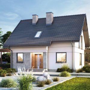 Dom w Zielistkach 8 – nowoczesny dom jednorodzinny z poddaszem użytkowym, łączna pow. użytkowa: 99,97 m2. Mieści 5 pokoi, 2 łazienki, kuchnię, spiżarkę, kotłownię i garderobę. Główne atuty tego projektu to funkcjonalna organizacja wnętrza i efektywne wykorzystanie powierzchni. Projekt: Archon+