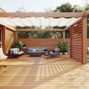 Pomysły na ogrodową strefę relaksu. Fot. Vidaron