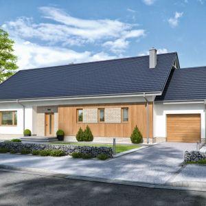 Domeny 107 A to dom parterowy o powierzchni 112,64 m kw. Powstał z myślą o myślą o 4-5-osobowej rodzinie. Fot. Domena