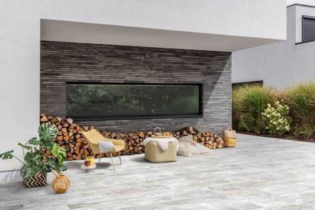 Betonowy design wokół domu - zobacz ciekawe kolekcje płyt