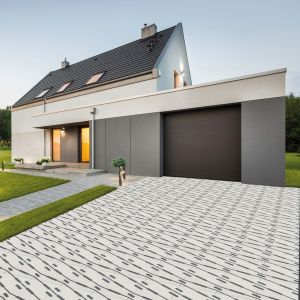 Otoczenie domu: betonowa kostka Extrano. Fot. Polbruk