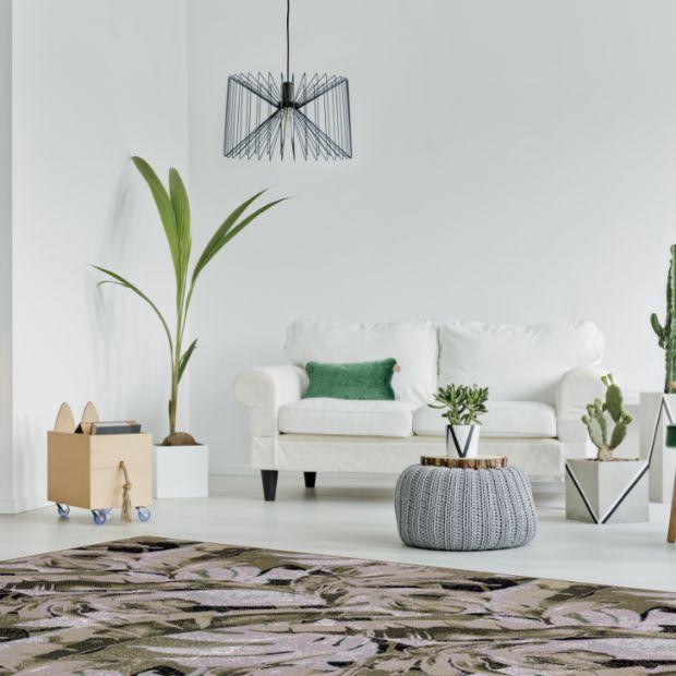 Trend botaniczny - dywany z motywem roślinnym