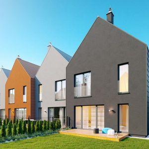 e4 Kampinoska to zespół domów w zabudowie szeregowej, będący pierwszym etapem osiedla Ostoja Kampinos, które docelowo tworzyć będzie 48 segmentów. Wizualizacja: Ostoja Development