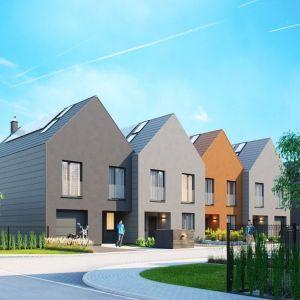 e4 Kampinoska to zespół domów w zabudowie szeregowej. Wizualizacja: Ostoja Development