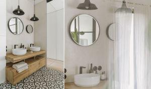 Łazienka przy sypialni właścicieli. Projekt i zdjęcia: STUDIO.O. organic design