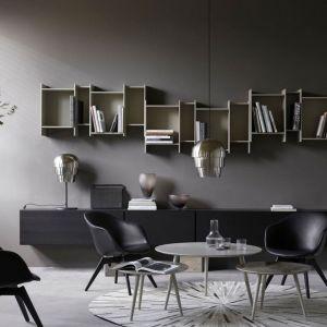 Meble do salonu: kolekcja Lugano z oferty firmy BoConcept. Fot. BoConcept