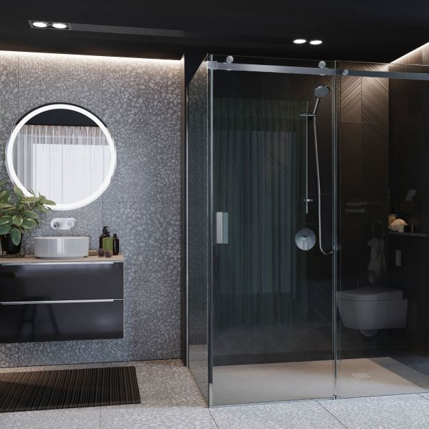 Kabiny prysznicowe - elegancka seria do salonu kąpielowego