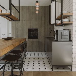 Mieszkanie dla rodziny: otwarte wnętrza inspirowane naturą. Projekt i zdjęcia: Studio.O