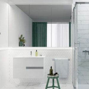 Kabina prysznicowa Capital dostępna w ofercie firmy Roca. Fot. Roca