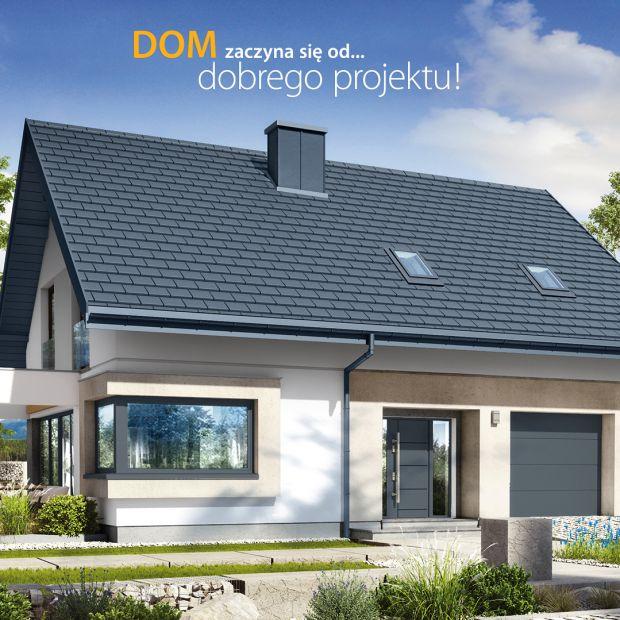 Prosty, ekonomiczny, funkcjonalny!  Zobacz projekt domu i aranżację wnętrz