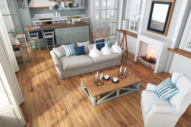 Bliskość natury w mieszkaniu, czyli motyw drewna… bez drewna