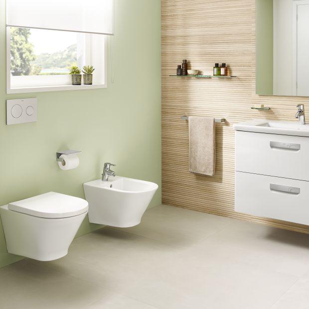 Wyposażenie łazienki - nowy model w popularnej serii ceramiki