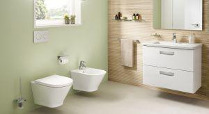 Niezwykle popularna seriaceramiki sanitarnej poszerzyła się onowy model miski WCw technologii bezrantowej.