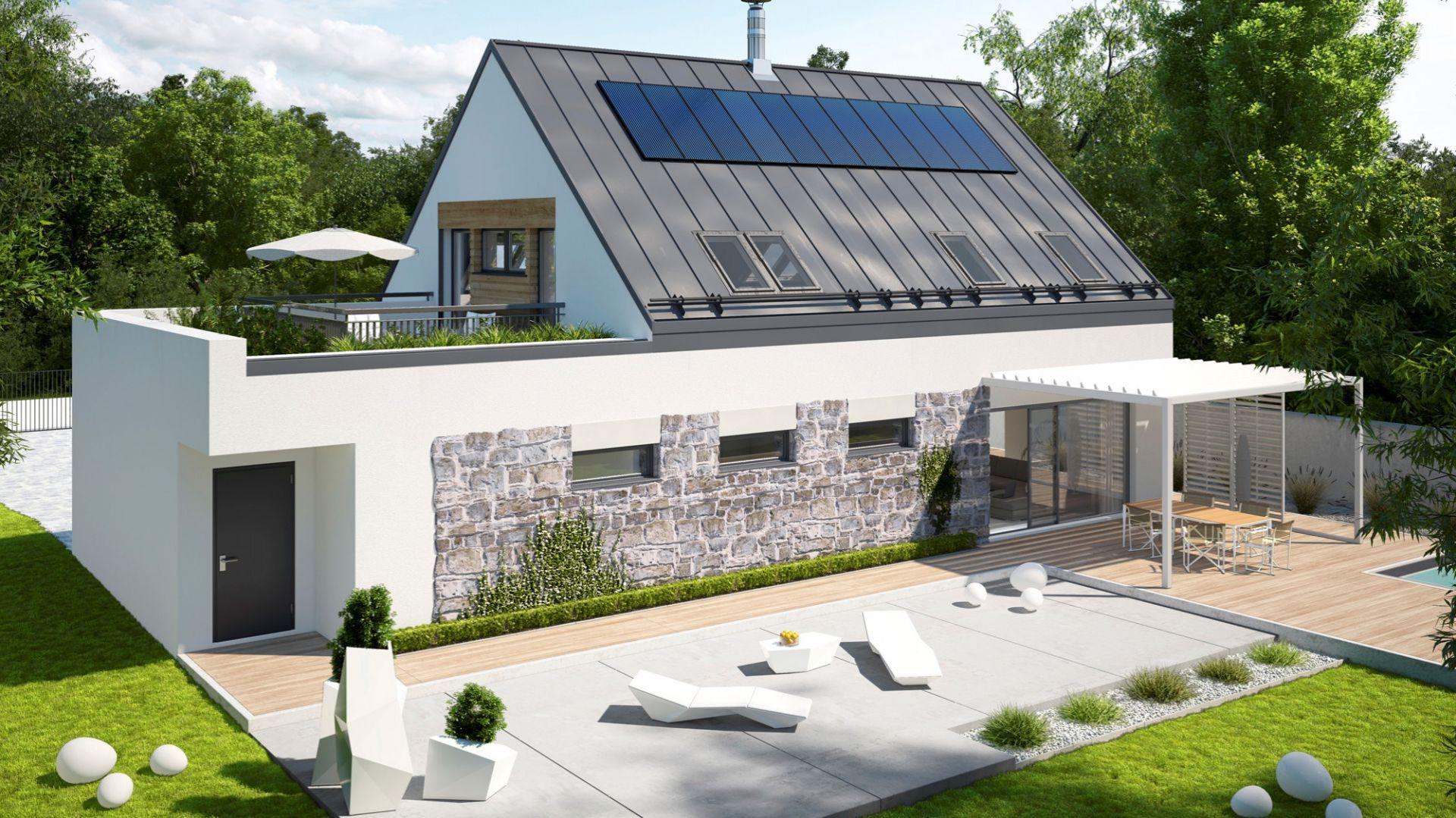 Projekt domu energooszczędnego: Sam II G2 Energo Plus. Fot. Pracownia Projektowa Archipelag