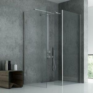 Aranżacja łazienki: kabina NewModus walkin. Fot. New Trendy