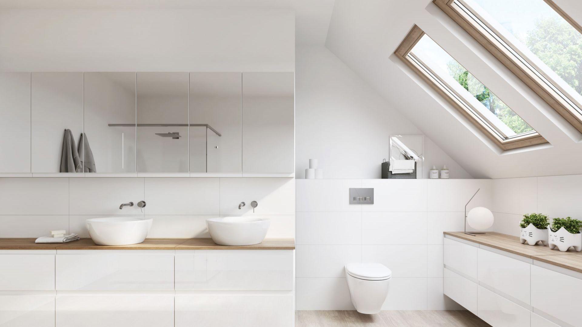 W utrzymaniu porządku w łazience pomocne będą najnowsze technologie stosowane przy produkcji ceramiki.  Fot. mat. prasowe Cersanit S.A.