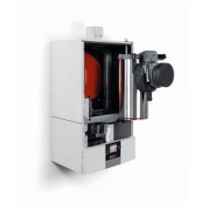 W modelach nowej generacji pozyskiwanie energii cieplnej ze spalin jest możliwe dzięki specjalnie zaprojektowanemu wymiennikowi ciepła. Fot. Wolf – Technika Grzewcza