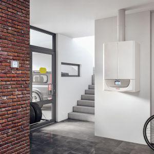 Nowoczesne kotły kondensacyjne prezentują się bardzo estetycznie i nie wymagają osobnego pomieszczenia na instalację. Fot. Immergas