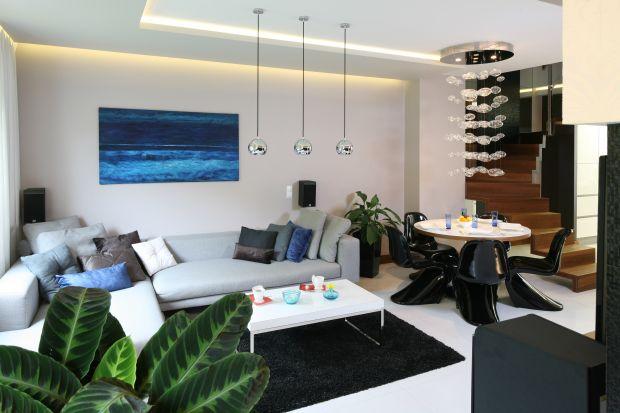 Kolor w salonie: piękne wnętrza