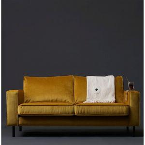 Przygaszona, ciemniejsza żółć to modny kolor w tym sezonie. For. 9design