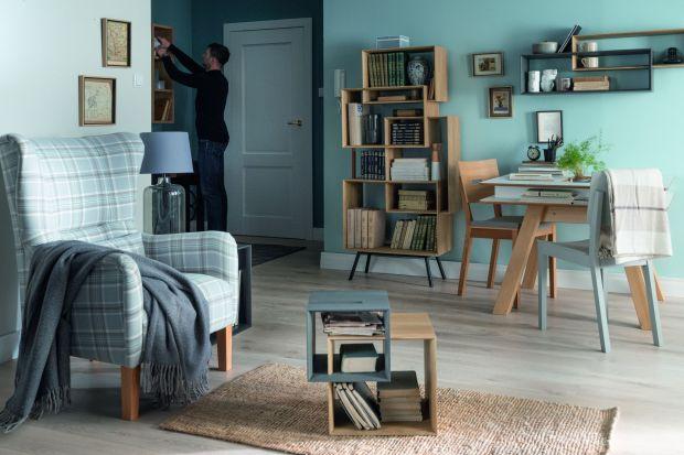 Modny salon: nowoczesna kolekcja mebli
