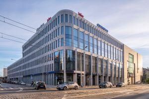 Polskie biuro firmy Infor mieści się w biurowcu Retro Office House, położonym w bezpośrednim sąsiedztwie ścisłego centrum Wrocławia. Projekt wnętrz: The Design Group. Fot. mat. prasowe Rockfon