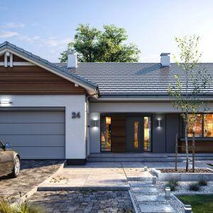 Niepodważalną zaletą projektów gotowych jest możliwość ich szybkiego zakupu. Projekt: Dom Parterowy 4. Fot. Fot. MG Projekt